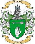 Kewney Family Coat of Arms from Ireland