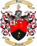Keys Family Coat of Arms from Ireland