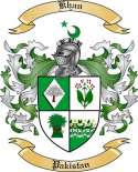 Khan Family Coat of Arms from Pakistan