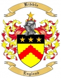Kibble Family Crest from England