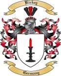 Kickey Family Crest from Germany