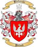 Kielarski Family Crest from Poland