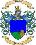 Kieler Family Crest from Germany