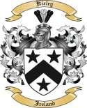 Kieley Family Crest from Ireland