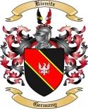 Kienitz Family Coat of Arms from Germany