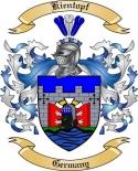 Kientopf Family Coat of Arms from Germany