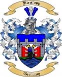 Kientopp Family Coat of Arms from Germany
