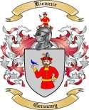 Kienzne Family Coat of Arms from Germany