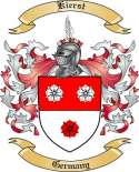Kierst Family Crest from Germany