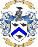 Kilborn Family Crest from England