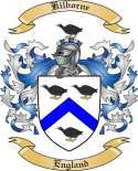 Kilborne Family Crest from England