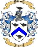 Kilburne Family Coat of Arms from England