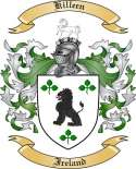 Killeen Family Coat of Arms from Ireland