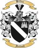 Killen Family Crest from Ireland2