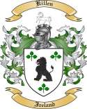 Killen Family Crest from Ireland
