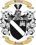 Killian Family Crest from Ireland2