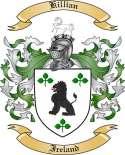 Killian Family Crest from Ireland