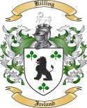 Killing Family Coat of Arms from Ireland