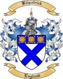 Kilpatrick Family Crest from England