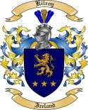 Kilroy Family Coat of Arms from Ireland