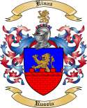 Kinaz Family Crest from Russia