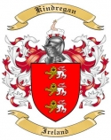Kindregan Family Crest from Ireland