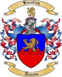 Kinevich Family Crest from Russia
