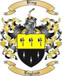 King Family Coat of Arms from England2