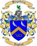 Kingsberry Family Coat of Arms from England