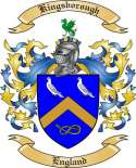 Kingsborough Family Crest from England