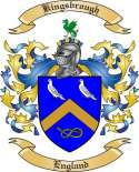 Kingsbrough Family Coat of Arms from England