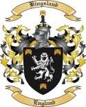 Kingsland Family Coat of Arms from England