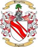 Kingston Family Coat of Arms from England