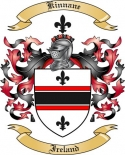 Kinnane Family Coat of Arms from Ireland