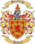 Kinniburgh Family Crest from Scotland