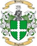 Kinsley Family Coat of Arms from England