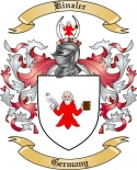 Kinzler Family Crest from Germany