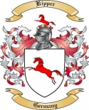 Kipper Family Coat of Arms from Germany