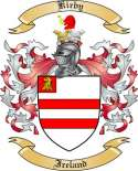 Kirby Family Crest from Ireland