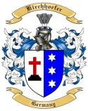 Kirchhoefer Family Crest from Germany