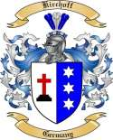 Kirchoff Family Crest from Germany
