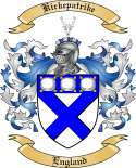 Kirkepatrike Family Coat of Arms from England2