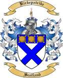Kirkepatrike Family Coat of Arms from Scotland