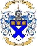 Kirkepatrike Family Coat of Arms from Scotland