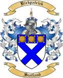 Kirkpatrick Family Coat of Arms from Scotland