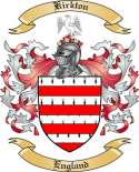 Kirkton Family Coat of Arms from England