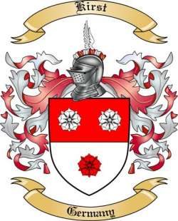 Kirst Family Coat of Arms from Germany