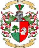 Kist Family Coat of Arms from Germany