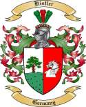 Kistler Family Coat of Arms from Germany