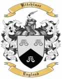Kitchiner Family Crest from England